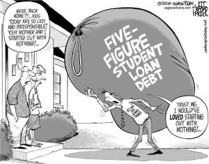 Student debt is obviously a problem but so is an uneducated populous.